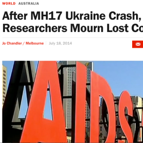 HIV/AIDS researchers mourn colleagues killed in MH17 – TIME.com
