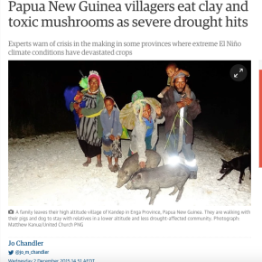 El Nino bites hard in PNG: The Guardian