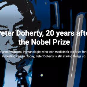 Peter Doherty, 20 years after the Nobel Prize