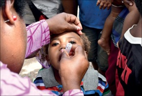 Fighting a polio outbreak in Papua New Guinea: Story for TheLancet