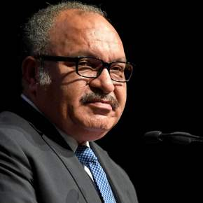 That time I had breakfast with former PNG PM Peter O'Neill
